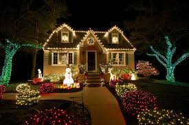 outdoor holiday lights and your home