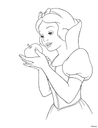 awesome snow white coloring 42 download coloring pages