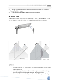 how do street lights work all in one led solar light installation
