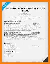 8 resume community service self introduce
