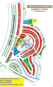 Safari Zone Red Map Bahria Town Karachi Maps With All Precinctsal Madina Estate