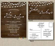 Rustic Wedding Invitations Cheap Rustic Wedding Invitations Ebay