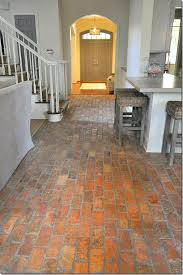 Kitchen Floor Ideas Pictures Hello Brick Floors I Think You U0027re Delightful For The Home