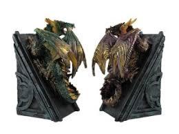Unique Book Ends Metallic Dragon Bookends 9 Unique Bookends For The Bookworm Goth