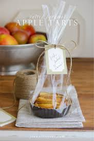 caramel apple party favors steffens hobick salted caramel apple tart gifts