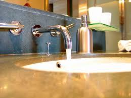 Wall Mount Faucets Bathroom Wall Mount Faucet U0026 Backsplash