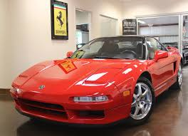 1992 acura nsx coupe 3l v6 24v manual red only 42 865 pampered