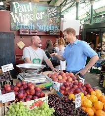 sending fruit prince harry makes visit to borough market the day after
