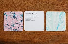 Moo 10 Free Business Cards Marbled Business Cards From Moo And Clay Leaf Card Holders
