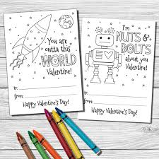 s day cards for school color your own s day cards school valentines tickled