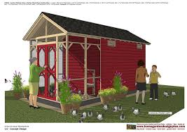 home garden plans cb200 combo chicken coop garden shed plans