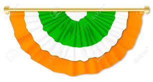 Green White Orange Flag Orange And Green Southern Ireland Flag Colour Bunting Over A