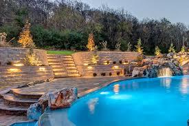 Backyard Paradise Greensboro Nc by Belgard Belgard Projects Honored At 2016 Hna Project Awards