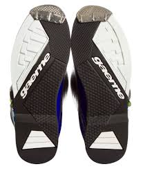gaerne motocross boots gaerne sg12 le boots blue white neon yellow sixstar racing