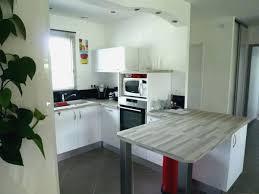 cuisine plan travail bois cuisine grise plan de travail bois cuisine grise plan de travail