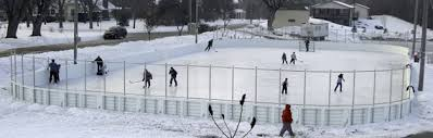 Ice Rink In Backyard We Build Backyard U0026 Commercial Hockey Rinks Courts Nj Pa Ny Md