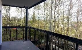pare vent verre cloison de verre boreal ouvertures