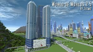Minecraft New York Map by Minecraft World Of Worlds V3 0 Creation Minecraft Worlds Curse