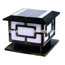 solar powered pillar lights solar post l outdoor pillar gate lights solar power light solar