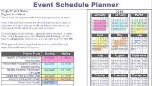 event planning guide template