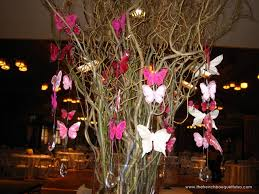 Butterfly Table Centerpieces by The French Bouquet Blog Inspiring Wedding U0026 Event Florals