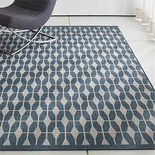 Crate And Barrel Outdoor Rug Aldo Ii Blue Indoor Outdoor Rug Crate And Barrel
