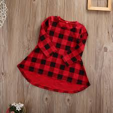 aliexpress com buy toddler baby dress plaid long sleeve