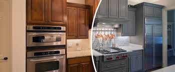 refinishing kitchen cabinets oakville cabinet painting services n hance wood refinishing oakville