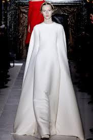 valentino u2013 spring 2013 couture long white cape dress zaidd u0027or
