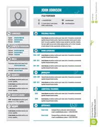 resume resume template resume cv vector concept layout in a4 format business resume blue business color colors concept format gray layout modern resume template