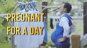 pikmin halloween costume pregnant man for a day trending in japan youtube