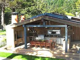rustic outdoor kitchen designs innovative small room patio fresh