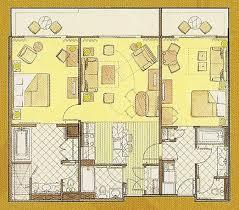 animal kingdom 2 bedroom villa floor plan kidani village dedicated 2 bedroom villa functionalities net