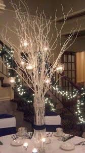 Christmas Decorations With White Branches by Best 25 White Branch Centerpiece Ideas On Pinterest Willow