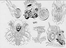 37 best classic biker tattoos ideas images on pinterest tattoo