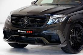 brabus brabus 850 xl widestar based on the mercedes benz gls63 gtc