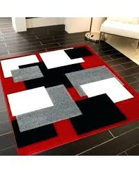 Modern Black Rugs Black And Contemporary Area Rugs Awesome Along With 15