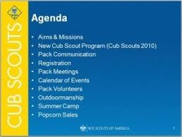 cub scout powerpoint template template idea