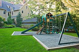 Landscaped Backyard Ideas Landscaping Ideas For A Playground Backyard One Thousand Designs