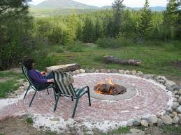 Small Firepit In Ground Pit Designs Laphotos Co