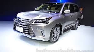 lexus new car in india the lexus lx range will include two models in india lx 450d and
