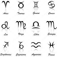 black zodiac signs u2014 stock vector oksanamoon 63208913