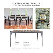 Sustainable Dining Table Henry Designs Modern Outdoor Furniture For Garden Patio