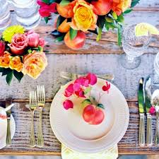 Summer Table Decorations Make Your Own Table Decorations Flowers And Fruits Bring Summer