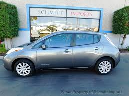 nissan hatchback 2015 used nissan leaf 4dr hatchback s at schmitt imports serving