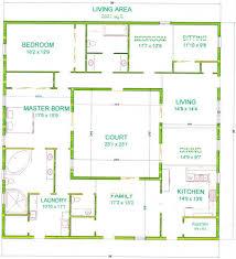 center courtyard house plans baby nursery courtyard house plan mission style house plans with