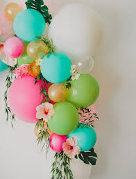 flowers and balloons diy floral balloon arch green wedding shoes