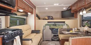 the 33sw is the new super c rv floor plan from thor motor coach