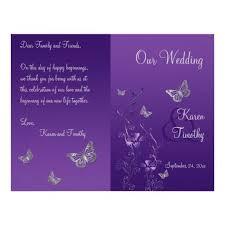 exles of wedding programs 18 best wedding program images on wedding programs