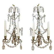 Candle Wall Pair Of Swedish Gustavian Baltic Candle Wall Sconces For Sale At